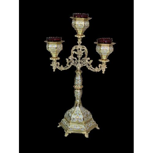 Trojramenná lampáda, vzor 11