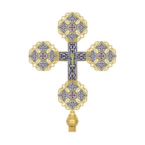 Procesijný kríž, vzor 12