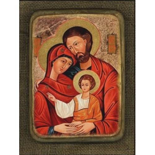 Ikona Svätej rodiny motív 1